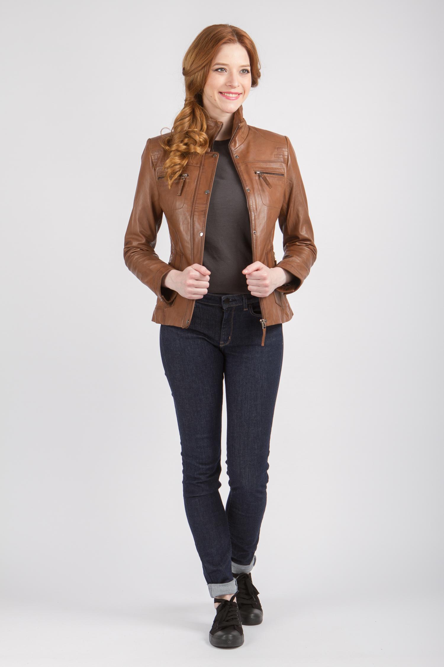 Куртки из кожи женские Самара